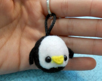 Penguin Keychain MADE TO ORDER