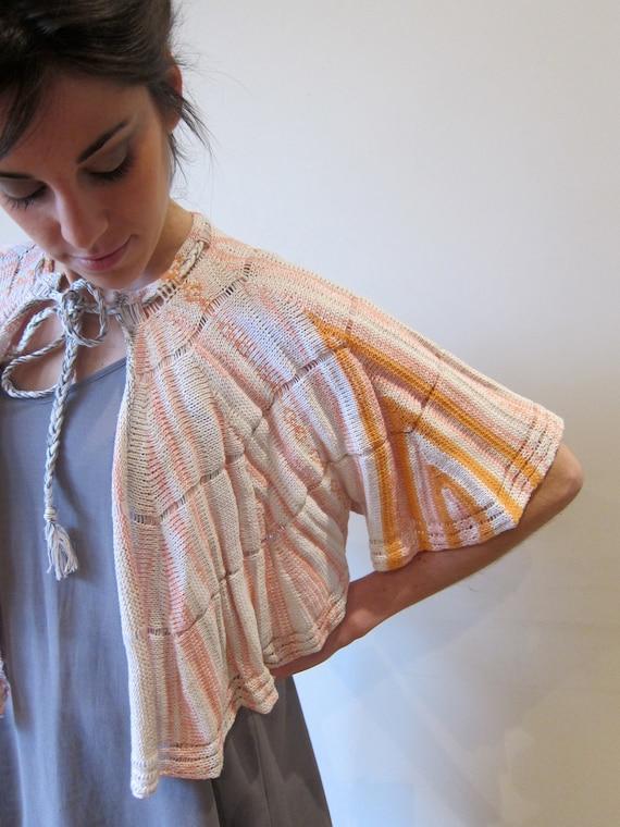 Summer Sale- Cape Flamingo Gil- by Knit Mystique