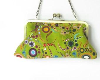Amelia Jewel Clutch - fabric by Amelia Caruso