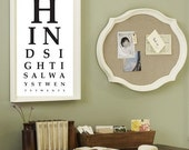 Eye Chart - Hindsight is Always Twenty Twenty - Typography