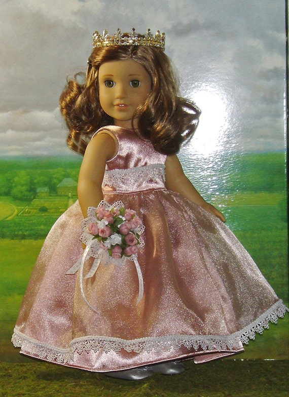 May Queen Formal for AG Rebecca and Other 18-inch Dolls