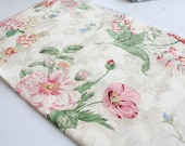 Floral Fabric Remnant
