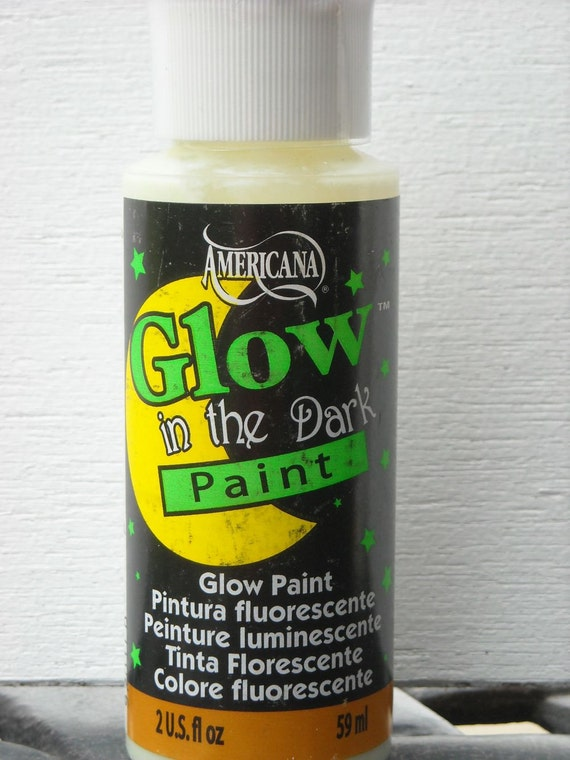 Glow in the dark acrylic paint americana 2 by for Can you paint candles with acrylic paint
