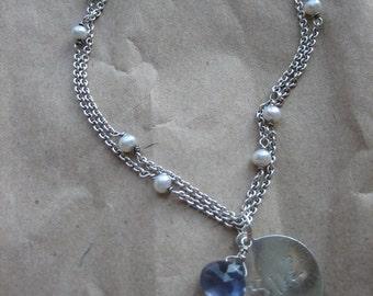 custom initial tag bracelet