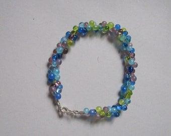 multi-color teardrop bracelet
