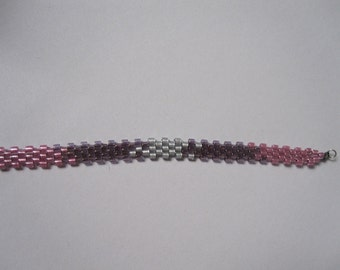 monochromatic woven bracelet