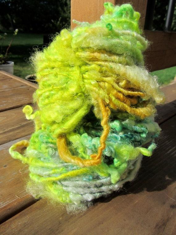 ShockMeGood Twin Sister HandSpun and Hand Dyed Yarn