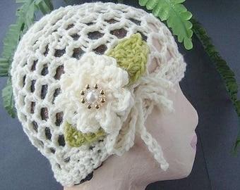 CROCHET Hat PATTERN number 56 Crochet for beginners, My Wild Irish Rose Hat, instant download