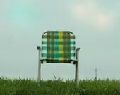 For Him Mid Century  Chair Photo  8x10 or 8x8 Lawn Chair Fine Art Photograph
