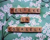 Fine Art Photo Print - Believe In Yourself - Inspirational Quote