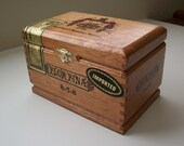 Flor Fina Cigar Box Turned Into Jewelry Box