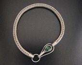 Argentium Silver Roman Chain Bracelet