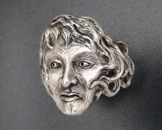 The Sterling Goddess Ring