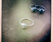 Silver Cavedweller Rock Ring