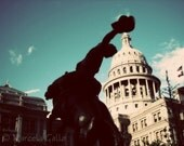 Howdy Cowboy - Texas Capitol - 8x10 photographic print