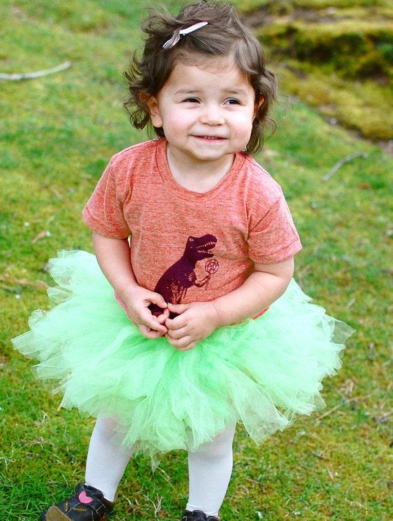 Reserved for Kim----Dinosaur T-Rex T Shirt, Recycled T- Shirt, Baby Shirt, Toddler T Shirt, Red