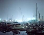 Boats, Marina Del Rey, CA. 2003, 8.5x11 Fine Art Print