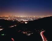 Mullholland Drive, Los Angeles, CA. 8.5x11 Fine Art Print