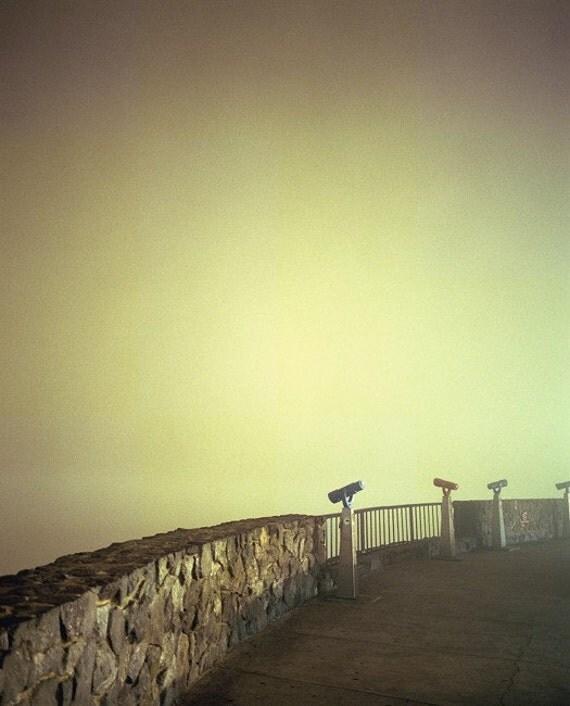 Twin Peaks, San Francisco, 8.5x11 Fine Art Print