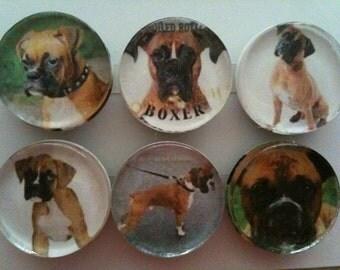 Handmade Boxer Magnets