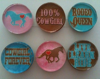 Rodeo Queen Handmade Magnets