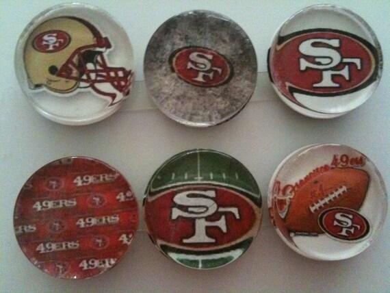 San Francisco 49ers Handmade Magnets