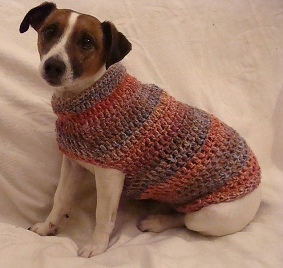 Crochet Dog Sweater Pattern
