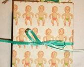 Baby mini keepsake book