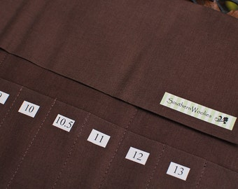 Iron-On Numbers for Interchangeable Needle Cases - US Needle Sizes