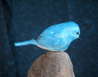 STONEWARE MOUNTAIN BLUEBIRD
