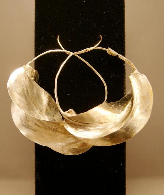 Fulani Earrings: Fulani Earrings Large Silver By KahYoot On Etsy