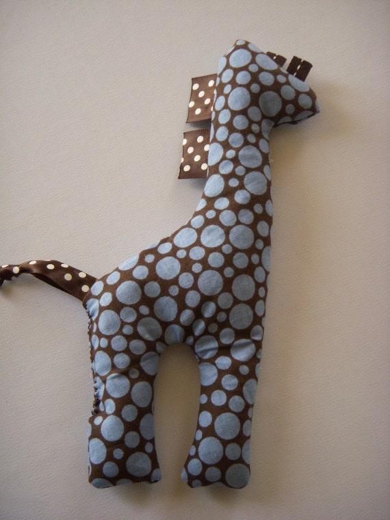 Garrett the Giraffe Ouchie Pak Rice Pack