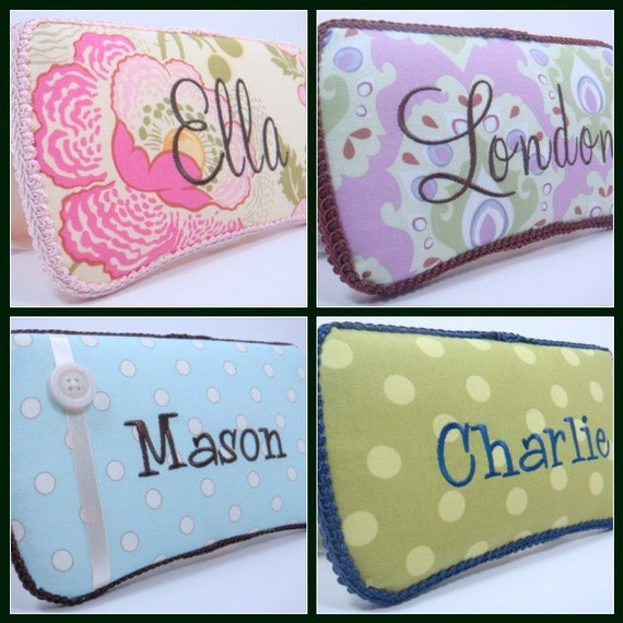 Personalized Diaper Wipes Case - Baby Girl Diaper Wipes Case -  Baby Boy Diaper Wipe Case - Choose Your Fabric - Baby Shower Gift