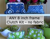 8x3 Make-Your-Own Clutch Kit: Gutermann glue, frame, interface - add YOUR OWN fabric
