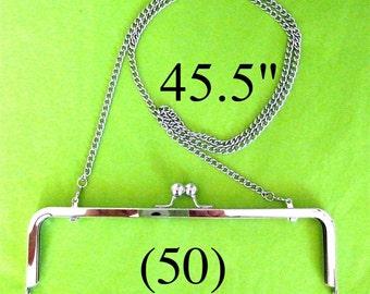 50% OFF 50 shoulder length 45.5 inch nickel-free purse chain(TM)