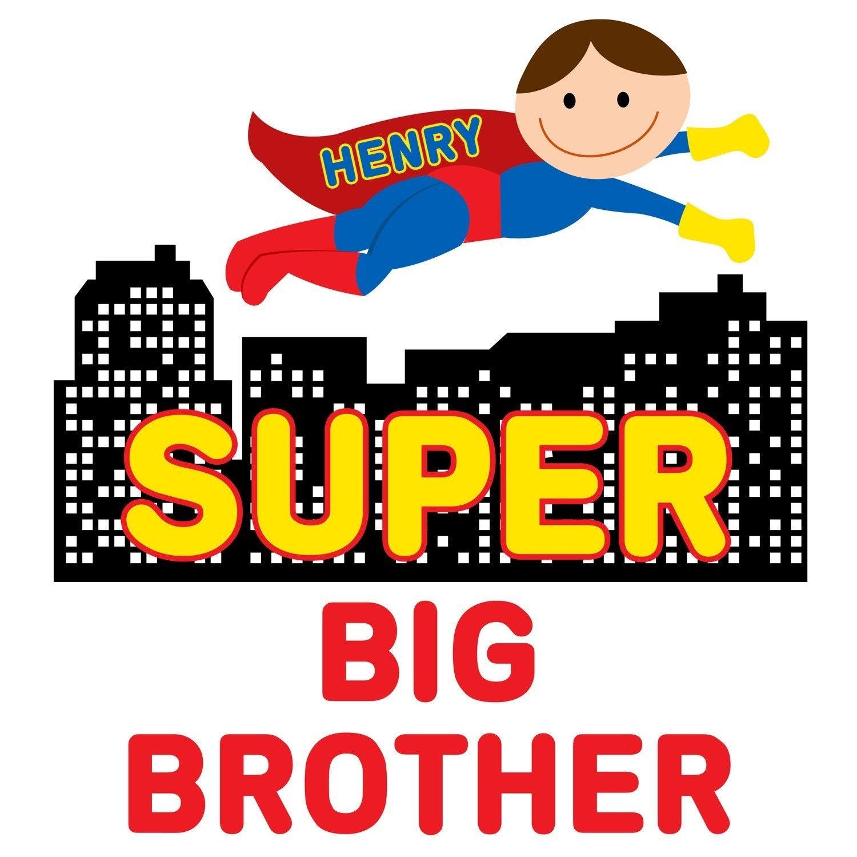 Super Big Brother Superman Super Hero Onesie or Shirt