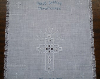 Christening/Baptism Towel