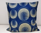 Retro style, African print, pillow case