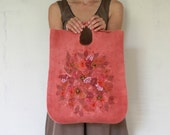 Reserved for Seema -- Felted bag
