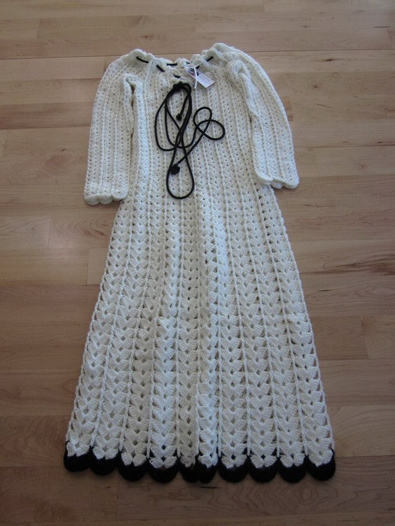 Hand Crafted sweater dress