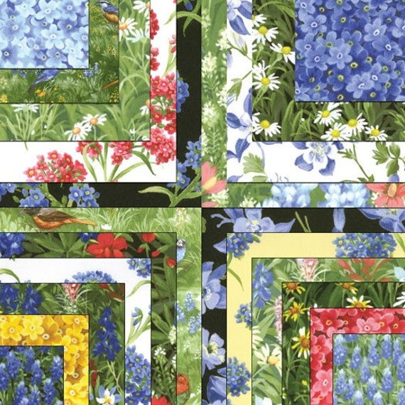 Texas Bluebonnets 3 Charm Packs Wildflowers Iv Quilt Fabric