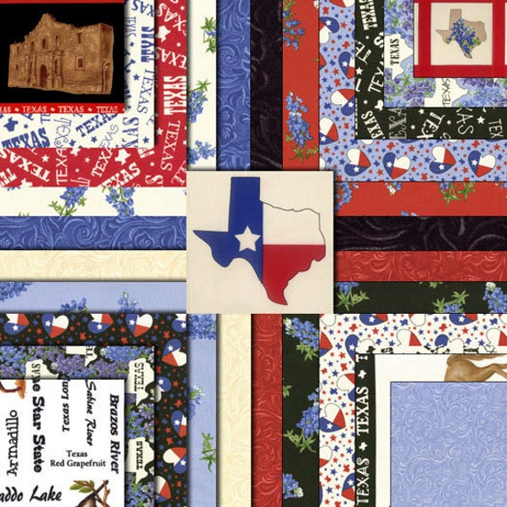 Deep In The Heart Of Texas 3 Charm Packs Moda By