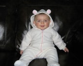 Custom Infant and Toddler Footed Pajamas