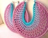 Crocheted Hoops