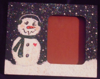 Holiday Magnetic Picture Frame