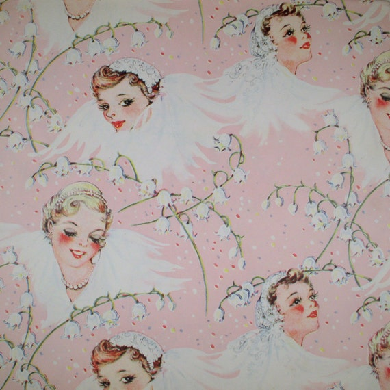 Wedding Gift Paper: Brides In Bloom Vintage Wedding Shower Gift Wrap Wrapping