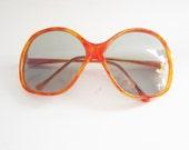 SALE Vintage mad men oversized sunglasses