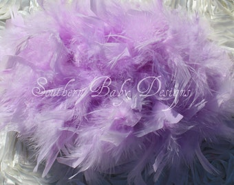 Lilac Purple Feather Bloomers Diaper Cover Headband Newborn Girl Infant Girl Newborn Photo Prop Infant Photo Prop 1st Birthday Outfit Cake