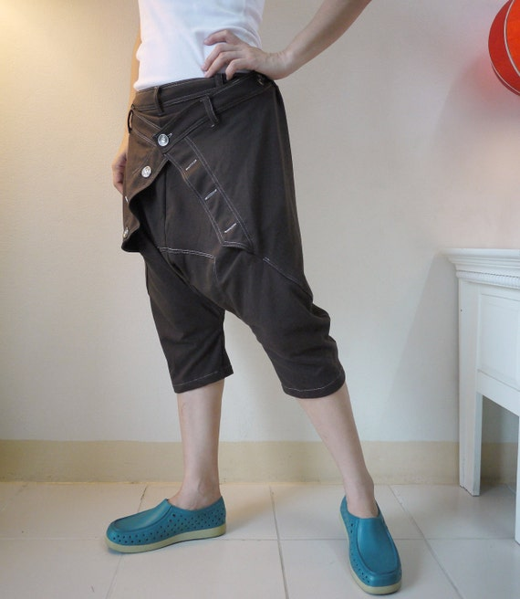 Unisex Pants - Dark Chocolate Brown Cotton Mix Polyester Pants With 1 Patched Pocket