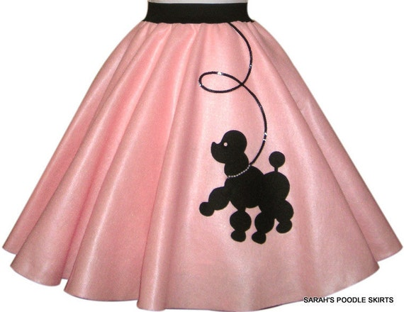 Cute Ladies Prancing poodle skirt Your choice of Size and Color S,M,L,XL,2X,3X,4X,5X Prices from 44.00-48.00